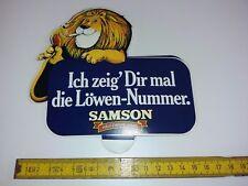 Aufkleber Zigarettenwerbung - Samson- Ich zeig dir mal die Löwen - Nummer