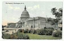 The Capitol,  Washington DC, Postmark 1911, 10 centimes, 1d handstamps to Ludlow