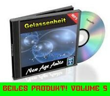 New Age Audio CD 5 SERENITY Synthetic Relaxation Music Wellness Music 1A