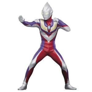 Ultraman Tiga Hero's Brave Statue Figure Normal color Banpresto