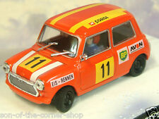 1/43 DIECAST JAMES BOND 007 RACING AUSTIN MINI ON HER MAJESTY'S SECRET SERVICE