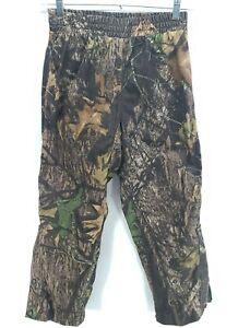 Youth Cabelas Camouflage Hunting Pants Size M Medium Regular Green Brown
