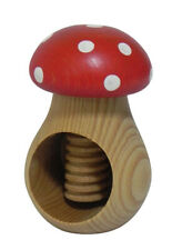 Nutcracker - VERY SOLID - Toadstool nut cracker Christmas or Home Occasion