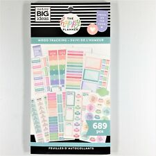 The Happy Planner Mood Tracking Sticker Book Pack Of 689 Me & My Big Ideas