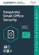 Kaspersky Small Office Security 5:   RENEWAL 1 Svr/ 5 Deskt/ 5 mobil NEU