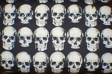 """RAD SKULL"" Fabric by Alexander Henry-100% Cotton-By the Yard"