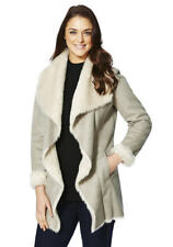 Shearling Coats & Jackets without Fastening for Women