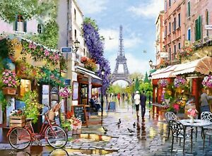 New 3000 pcs pc Puzzle jigsaw Castorland Flowering Paris C-300525 FREE SHIPPING