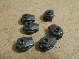 Lego Panther Super Hero 6 x Pearl Dark Gray Minifigure Hand Armor NEW