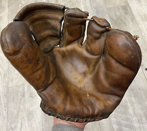 1950s Vintage Rawlings Stan Musial PMM Autograph Model Play Maker Baseball Glove