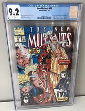 New Mutants 98 CGC 9.2