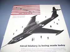 VINTAGE..1955 MARTIN XP6M-1 SEAMASTER..1-PAGE ORIGINAL SALES ADS...RARE! (311L)