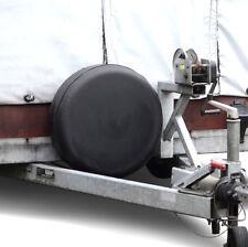 Reserveradabdeckung 61x22cm Reifenhülle Wohnwagen Wohnmobil Caravan WoMo SCHWARZ