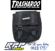 Trasharoo 1/10 Scale Miniature Spare Tire Trash Bag Black TSHBK