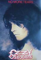 "OZZY OSBOURNE POSTER ""NO MORE TEARS"""