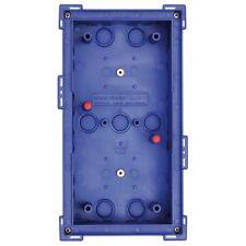 Mobotix - Modulo Double In-Wall Mount Colore Blu- per video IP door station