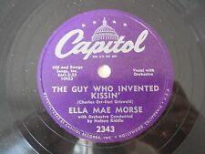 Ella Mae Morse The Guy Who Invented Kissin / Good Capitol 2343 VG++