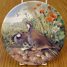 Redlegged Partridge by Derek Braithewaite Ltd. Ed. Royal Grafton Collector Plate