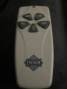 Emerson SR100 Ceiling Fan Remote Control *Remote ONLY*