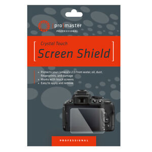 Promaster 1704 Glass Screen Shield For Panasonic DCG9 GX85 G85 LX15 Etc.  QDR26