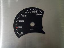 Porsche 911 ( 996 ) MPH zu KMH Tachoscheibe Gauge Tacho Dial plates speedo