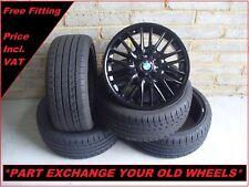"2365 Genuine 18"" BMW MV1 72M 3 Series E46 Z4 E85 Alloy Wheels And New Tyres"