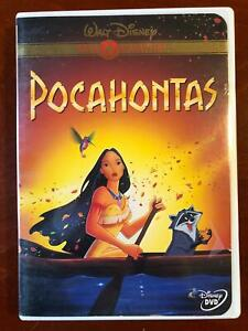 Pocahontas (DVD, 1995, Gold Collection, Disney) - STK