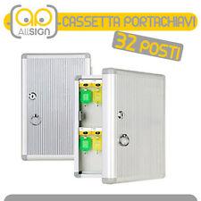 CASSETTA PORTACHIAVI 32 GANCI condomini arredo bricolage casa chiavi oggetti box