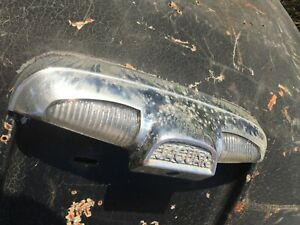 Jaguar Mark X, 420, 420G, 3.8S rear Number Plate Lamp with Glass Lens