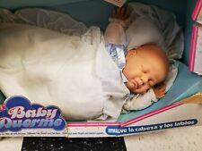 "Berjusa Baby Duerme Vinyl 19"" Baby Doll New in Box"