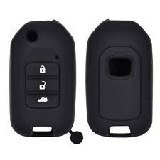 Silicone Car Key Cover Case For Honda Civic CR-V HR-V Accord Jade Crider Odyssey