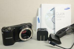 Samsung NX2000 20.3 MP Mirrorless Digital Camera Body Black