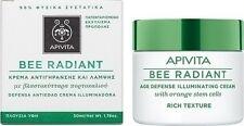 Apivita Bee Radiant Age Defense Illuminating Cream - Rich Texture , 50ml