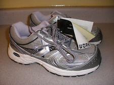 CONVERSE Women's Steel Toe Shoes C448 GRAY WHITE PURPLE 7.5M