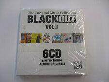 BLACK OUT VOL.1 - 6CD BOXSET SIGILLATO - OTTAVO PADIGLIONE - MADASKI - SOON