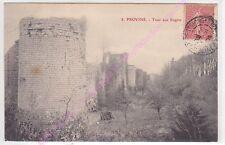CPA 77160 PROVINS Tour aux Engins ca1908