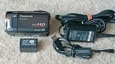 Panasonic HDC-SD60 - Full HD 5MP Camcorder, SDXC - HiDef Video Camera w/Battery