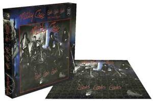 Rock Saws MOTLEY CRUE - GIRLS GIRLS GIRLS Album 500 piece Jigsaw Puzzle Licensed