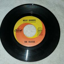 The Beatles Hello Goodbye I am the Walrus 45 Capitol 2056
