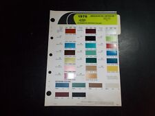1976 American Motors Dupont Paint Color Chips Gremlin Hornet Pacer Matador Jeep