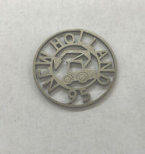 New Holland 95 Machinery Cut Out Pewter Advertising Medal Token Coin