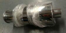 "SALE universal 2.5"" 63mm inlet exhaust rear muffler 100mm tip sport racing type"