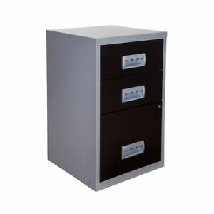 Pierre Henry 3 Drawer Combi Filing Cabinet A4