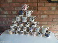 Emma Bridgewater Large Collection of ½ Pint Mugs – 21 Designs - Brand New