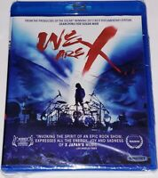 We Are X [New Blu-ray] Factory Sealed Rock Documentary 🎸
