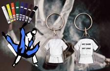 Personalised Judo - Karate - Ju Jitsu - Kickboxing double sided White Belt