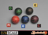 5 Colors 1/6 Scale Basketball Model Toy Scene Accessory Fit 12'' Action Figure
