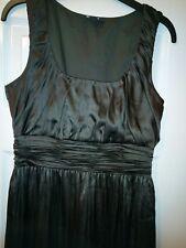 DKNY Ladies Grey Silk Dress 6 (2297B)