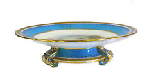 English 19th Century Hand Painted Porcelain Tazza/Cake Stand - Unmarked.