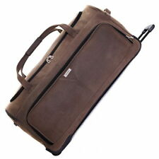 Upright (2) Soft Synthetic Heavy-Duty Suitcases